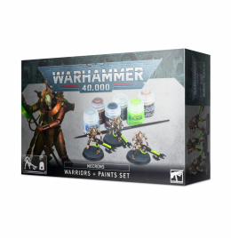 Warhammer 40k Necrons Warriors + Paint Set