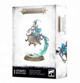 Disciples Of Tzeentch Magister on Disc of Tzeentch