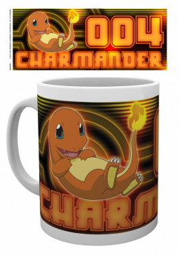 Kubek Pokemon: Charmander Glow