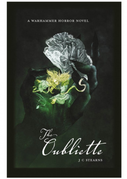 Warhammer Horror Novel: The Oubliette