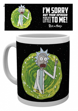 Kubek Rick and Morty -YOUR OPINION MUG