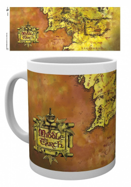 Kubek Lord of the Rings Maps