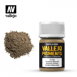 Vallejo Pigment Natural Umber 73109 (35ml)