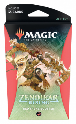 Zendikar Rising Theme Booster-Red